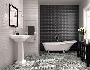 best salle de bain faience blanche images amazing house With faience noire salle de bain
