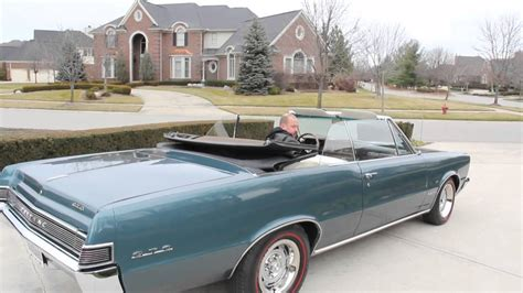 1965 pontiac gto convertible classic muscle car for sale in mi vanguard motor sales youtube