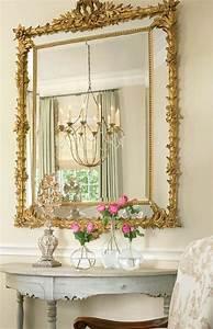 Grand Miroir Cadre Dor Ides De Dcoration Intrieure