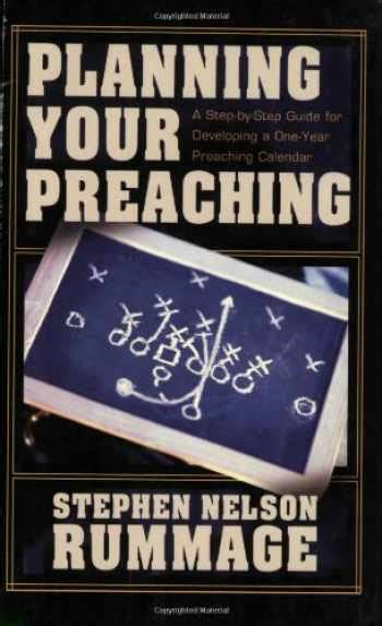 foto de Sell Buy or Rent Planning Your Preaching: A Step by Step