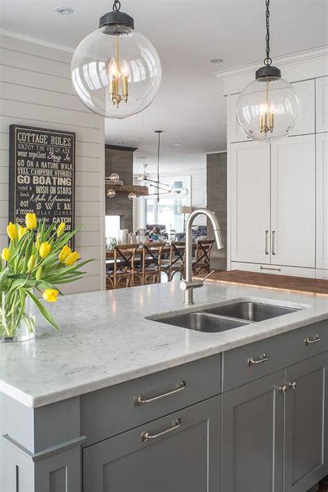 gray  white color  kitchen epic home ideas
