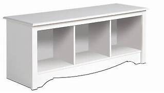 German Kitchens Glasgow Direct by New White Prepac Large Cubbie Bench 4820 Storage Usd 114 99 End Date Wednes