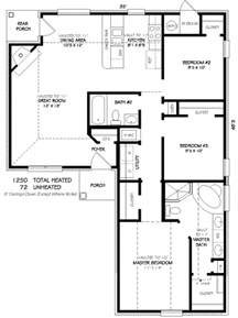 delightful 1250 sq ft house plans traditional style house plan 3 beds 2 00 baths 1250 sq