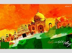 Happy Independence Day Painting Art Wallpaper