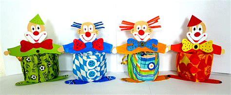 clown gesicht basteln clowns aus hexentreppen fasching basteln meine enkel und ich