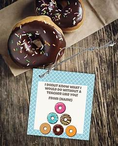 Donut Template Donut Labels Gift Tags And Bag Toppers