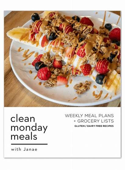 Monday Clean Meals Edition Weekly 3rd Grocery