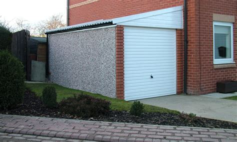 Lean To Concrete Garages  Free Quote  Lidget Compton