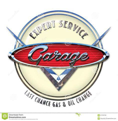 gap inc portal help desk garage sign chrome stock illustration image 61723739