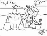 Verano Colorear Dibujos Coloring sketch template