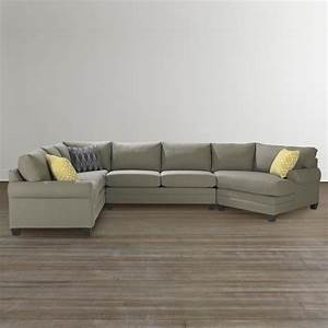 Cu2 left sectional sofa with cuddler chaise living room for Sectional sofas bassett furniture