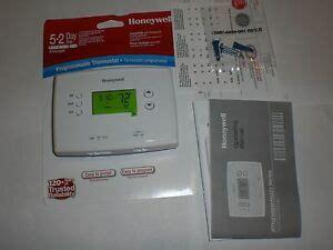 Honeywell Programmable Thermostat Rthb Day Heat