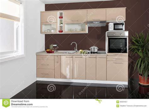 cuisine simple 67 intérieur d 39 une cuisine moderne meubles en bois simple