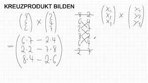 Kreuzprodukt Berechnen Trick : wie bildet man ein kreuzprodukt von 2 dreidimensionalen vektoren youtube ~ Themetempest.com Abrechnung