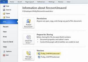 ultimate guide on how to recover a word document With recover documents not saved