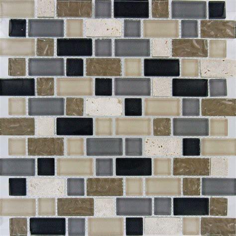 home depot mosaic tile ms international stonecrest interlocking 12 in x 12 in x