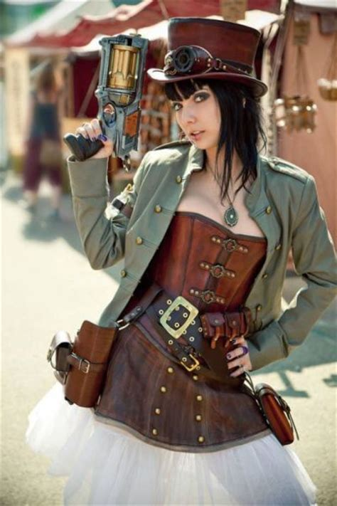 steampunk girls     love cosplay  pics
