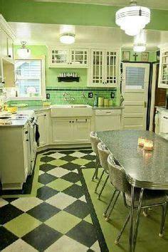 retro kitchen flooring february 1936 kitchen in westmoreland homesteads mount 1936