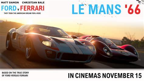 Director james mangold's new film ford v. I made a Le Mans 66 movie poster. : granturismo
