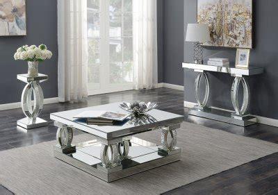 coffee table  mirror rhinestones  coaster