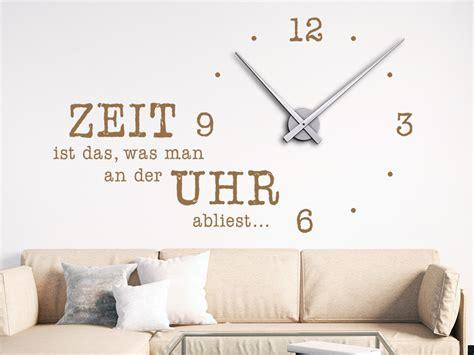 Wandtattoo Uhr Zeit Ist Das, Was Man An Der Uhr
