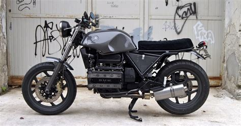 Modified Bmw K100 by For Motorcycle Fans Black Spider Sumisura Posted