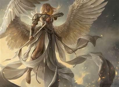 Angel Wings Warrior Fantasy Sword Armor Blonde