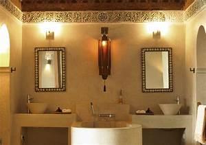 deco de salle de bain orientale rose des sables With deco salle de bain orientale