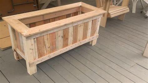 wood pallet planter  diy ideas