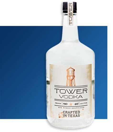 vodka tower american texas distilled total wine