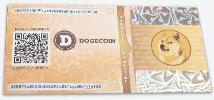 dogecoin paper wallet generator offline  bip