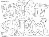 Coloring Snow Plow Pages Truck Printable Getcolorings sketch template