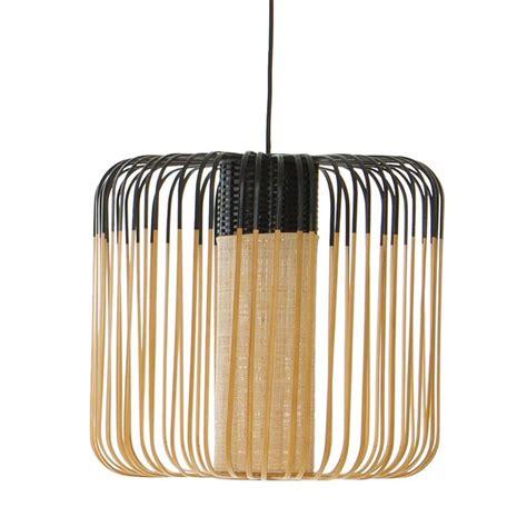 bamboo lampa wiszaca zewnetrzna bambus wyscm czarny forestierarik levy  zl