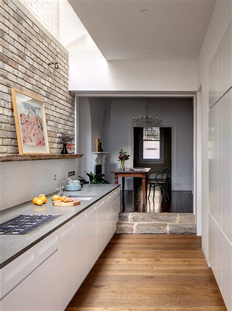 galley kitchen extension ideas home dzine kitchen kitchen goes from and dingy to 3700