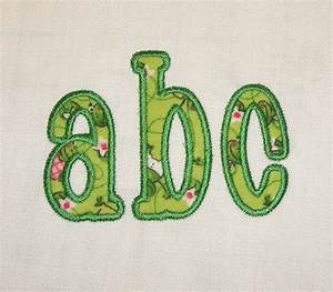 chachie applique machine embroidery font With applique letters machine embroidery