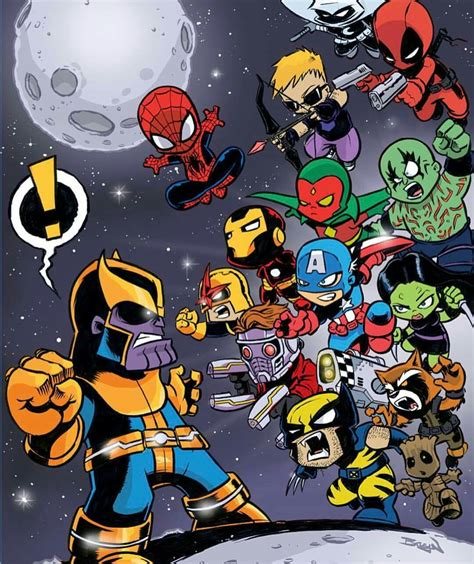 marcel  thanos infinity war spidey marvel avengers