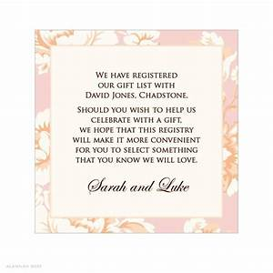 gift card for bridal shower wording bridal shower With 3 day wedding invitation wording