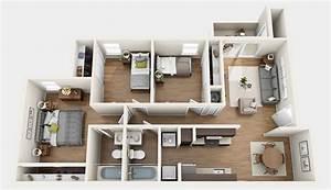 3 Bedroom Apartments in Gainesville FL - Chelsea