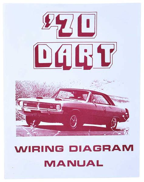 1970 Wiring Diagram by 1970 All Makes All Models Parts L1235 1970 Dodge Dart