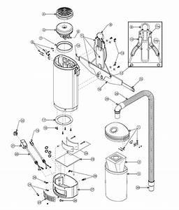 Proteam Everest 10 Qt  Backpack Vacuum Parts List