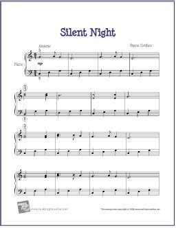 If you have any specific feedback about how to improve this music sheet, please submit this in the box below. Silent Night | Easy piano sheet music, Sheet music, Christmas piano music