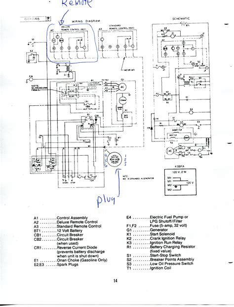 Onan 4000 Rv Generator Wiring Diagram by Onan 4000 Generator Remote Start Switch Wiring Diagram Sle
