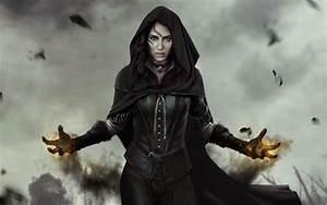 Wallpaper Yennefer The Witcher 3 Wild Hunt Sorceress