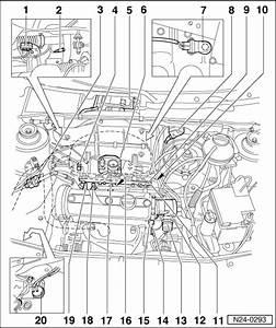 Volkswagen Workshop Manuals  U0026gt  Golf Mk3  U0026gt  Power Unit  U0026gt  Motronic Injection And Ignition System