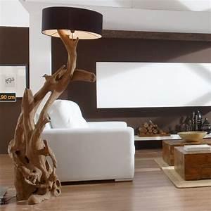 Stehlampe Aus Holz : die besten 17 bilder zu ideen holz auf pinterest haus tische und waschbecken ~ Indierocktalk.com Haus und Dekorationen