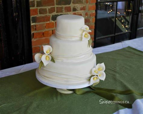 maricor jason simple wedding cake design