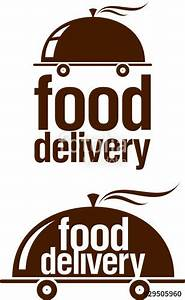 """Food delivery icon."" Stock image and royalty-free vector ..."