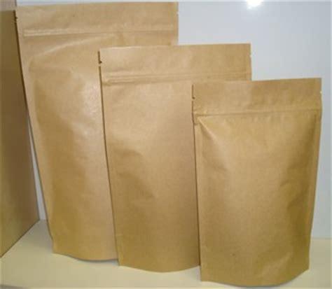 Buy 150g Kraft/foil zip lock heat sealable coffee pouches