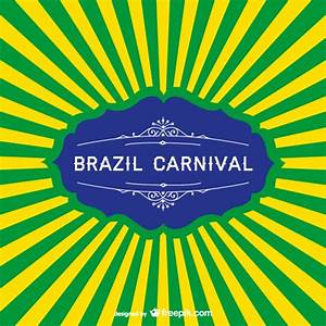 Brazil carnival background Vector | Free Download