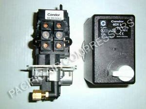 mdr3 condor combo pressure switch magnetic starter 20 30 air compressor part